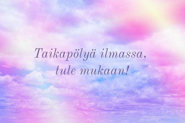 Taikavoimaa nettikurssi - Katri Syvärinen