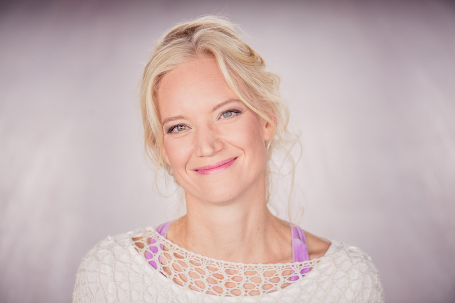 Katri Syvarinen, Finnish yoga teacher, speaker and author